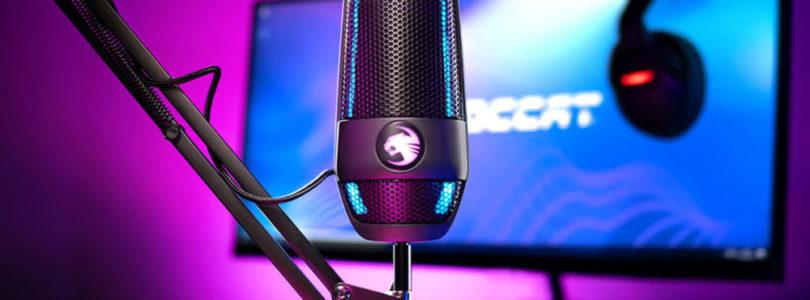 Roccat Torch, un micrófono para streamers lleno de funcionalidades