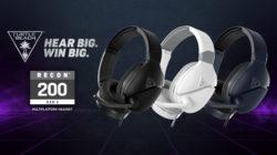 Los auriculares multiplataforma Recon 200 Gen 2 de Turtle Beach, ya están disponibles