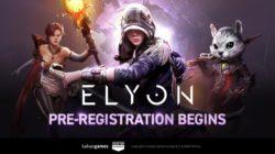 Elyon se prepara para su pre-registro, eventos con regalos y nos muestra nuevo tráiler