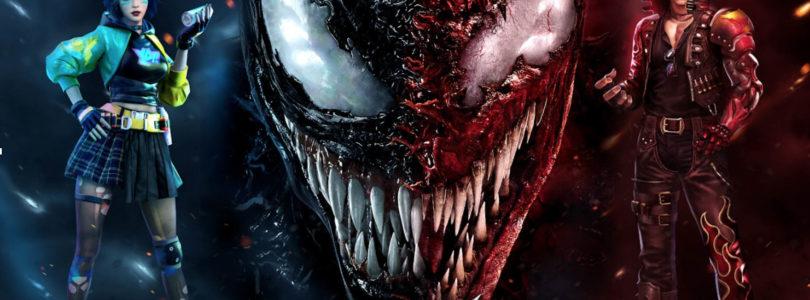 Arranca el evento exclusivo de Free Fire x Venom: Habrá Matanza