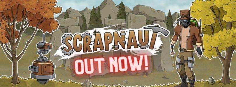El juego de supervivencia cooperativo top-down Scrapnaut, sale de acceso anticipado y se lanza formalmente