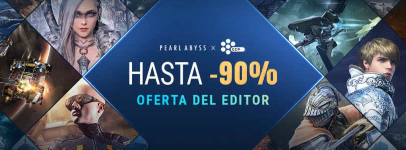 Black Desert Online por 0,99€ gracias a Pearl Abyss y CCP